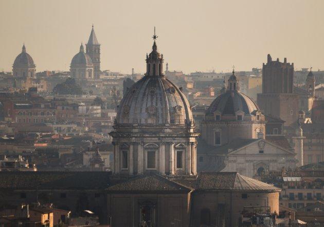 Ontsnap de drukte in Rome