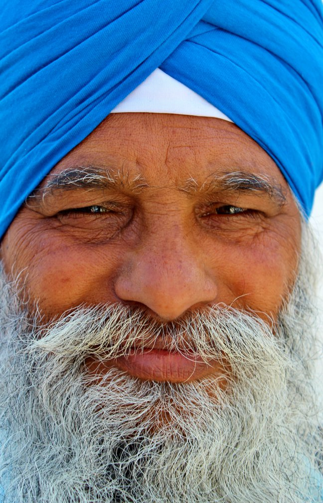 Vriendelijke sikh