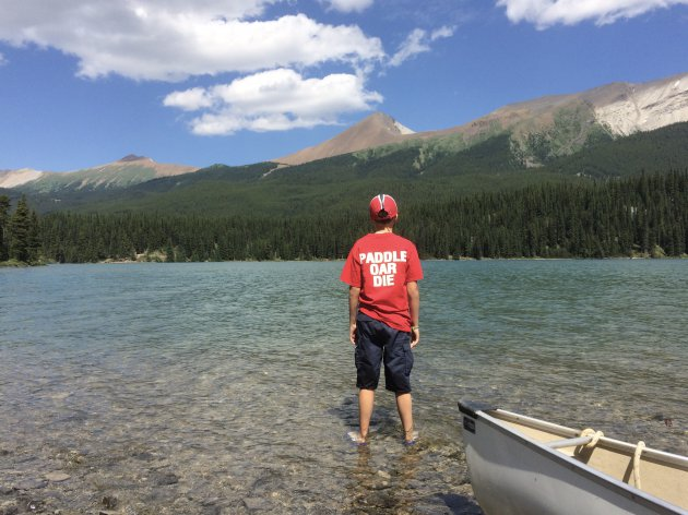Kanoën over de Canadese meren