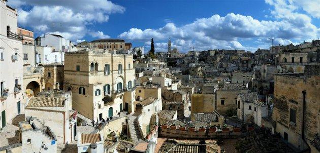 Matera, stad van grotwoningen