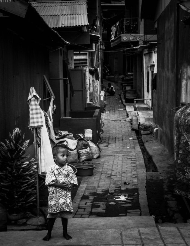 Armoede langs de kade