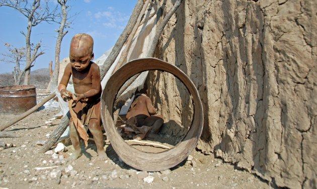 Contact met de Himba