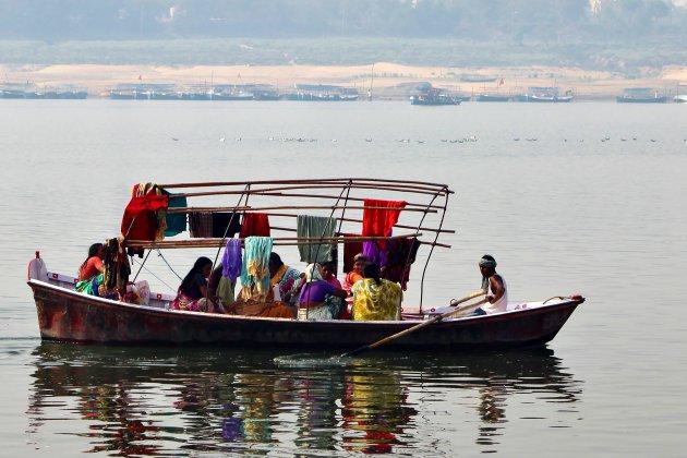De Yamuna bij Allahabad