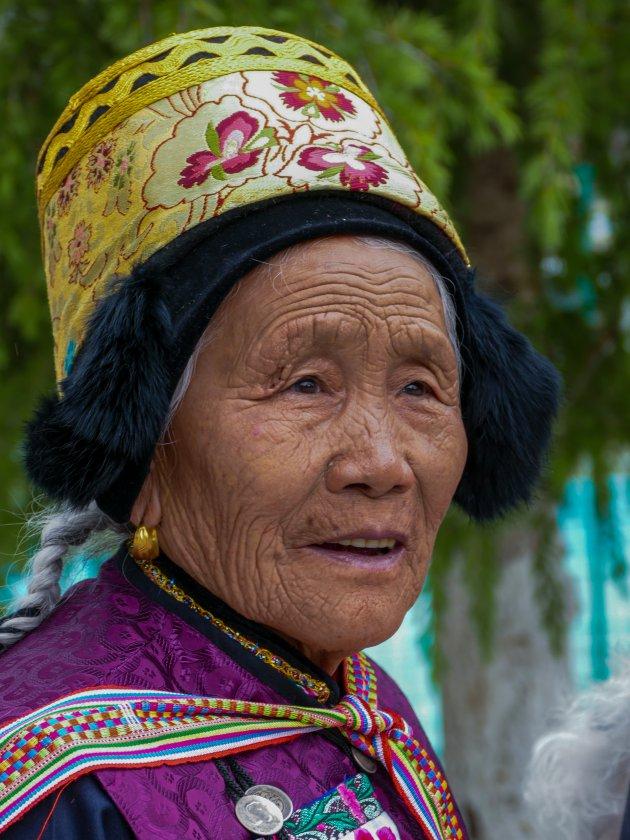 Traditionele kleding tijdens het Saimajie festival