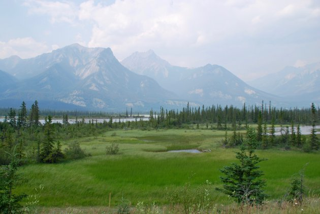 De prachtige Canadese Rockies