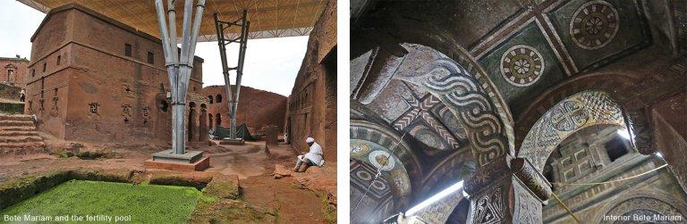 De wereldberoemde rotskerken van Lalibela
