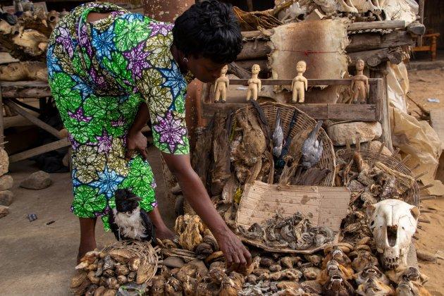 Fetisj markt in Lomé