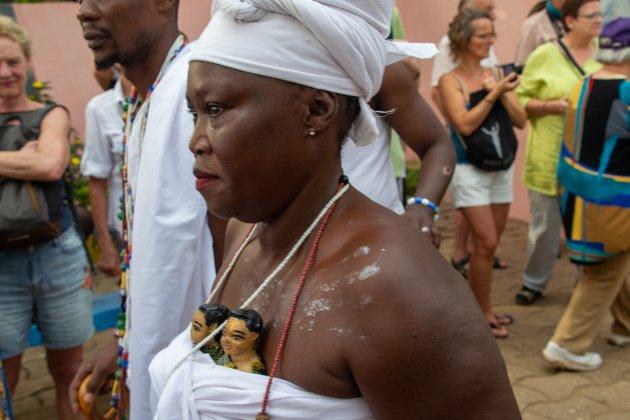 Tweelingen worden geëerd in Benin