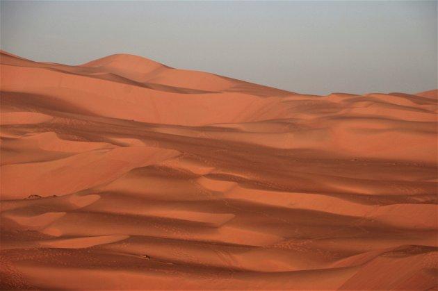 Het Empty Quarter in Abu Dhabi