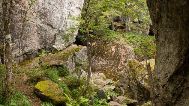 Gylterudsgrottan, een grot uit de Zweedse legendes