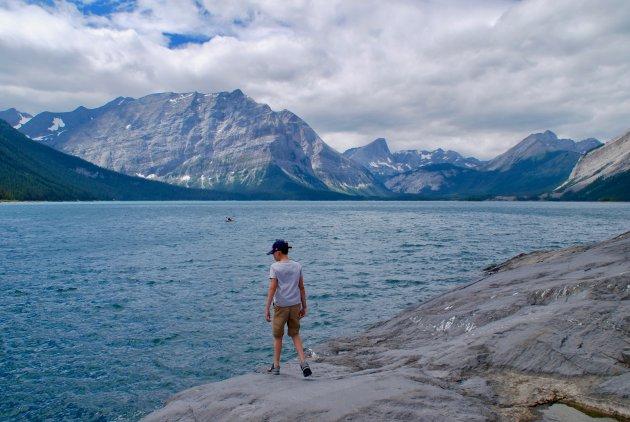 Buiten spelen in Peter Lougheed Provincial Park