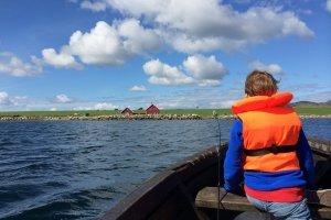 Varen op de Noorse fjorden