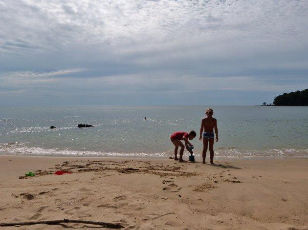 Zon, zee en strand is altijd leuk