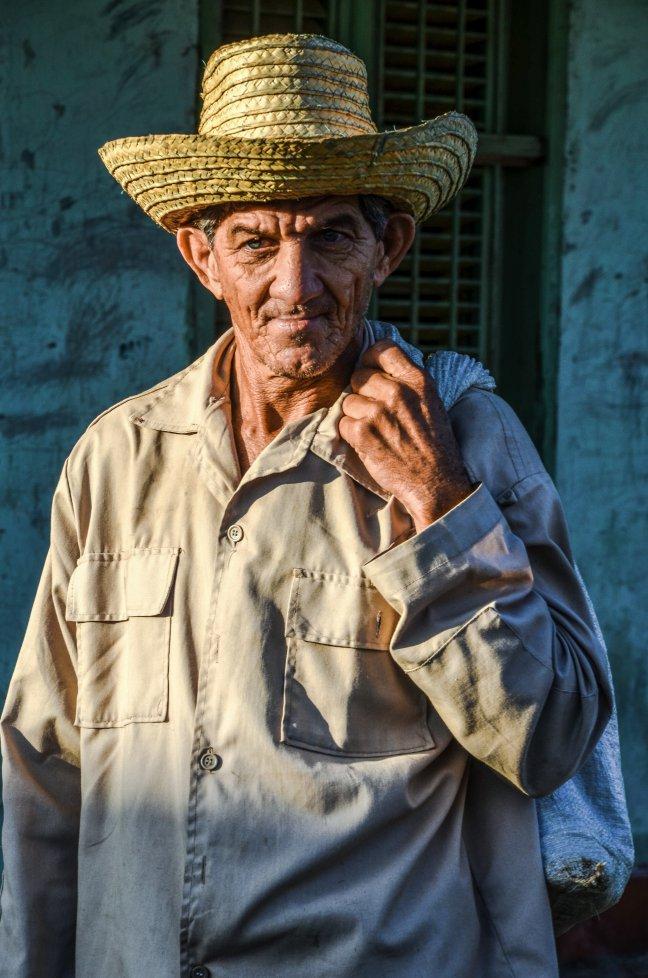 De mens in Cuba