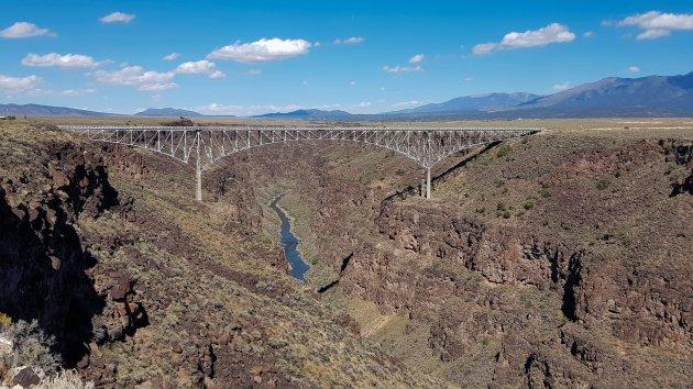 Rio Grande brug en rivier