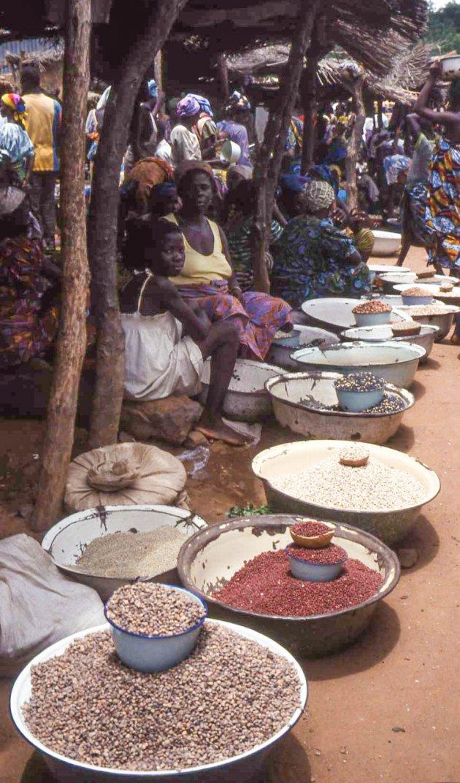 Een West-Afrikaanse markt