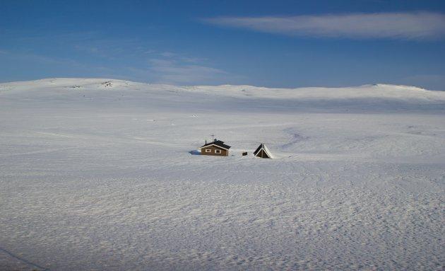 Noorwegen in de winter.