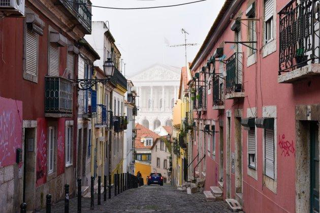 De roze straten van Lissabon, Portugal!