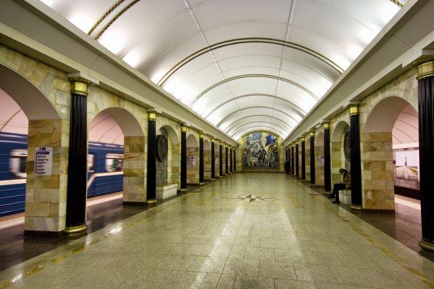 Diepste metrostation van Rusland: Admiralteyskaya