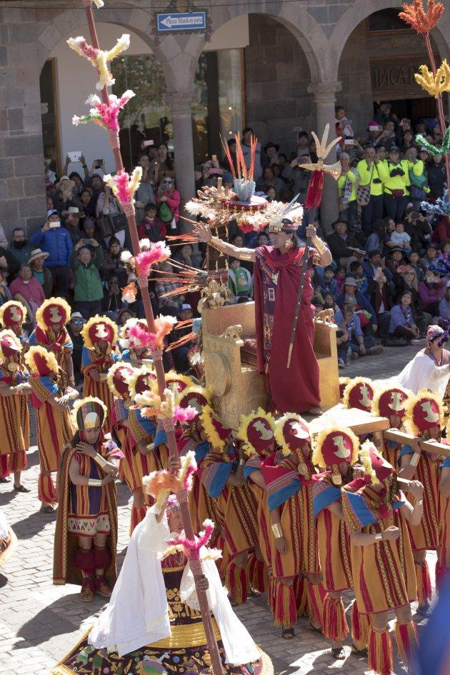 Inti Raymi Festival Cuzco