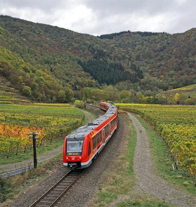De spoorlijn Remagen - Ahrbrück