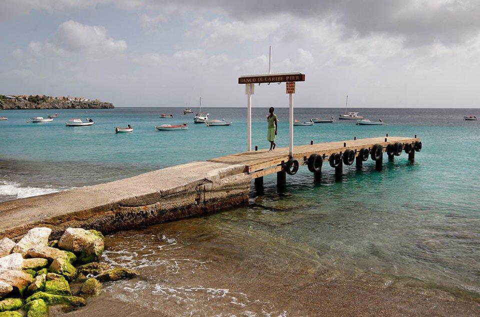 Op Curaçao is het het hele jaar lekker weer