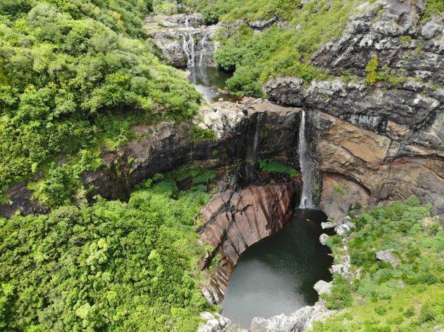 Le sept cascades