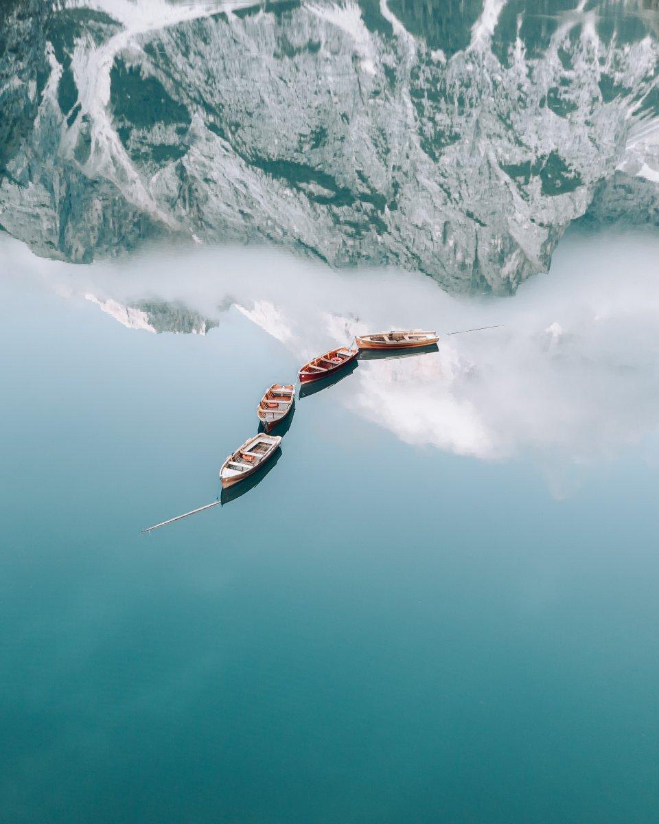 Lago di Braies, Dolomieten, <a class='columbus-link' style='text-decoration:underline;' href='https://www.columbusmagazine.nl/europa/italie'>Italië</a>