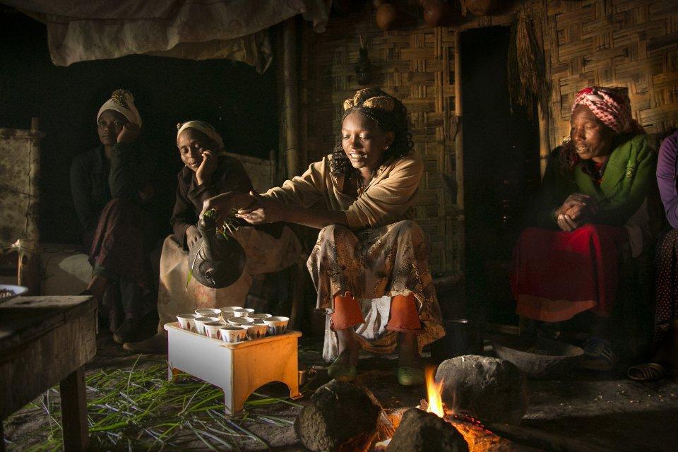 Koffieceremonie, Ethiopië