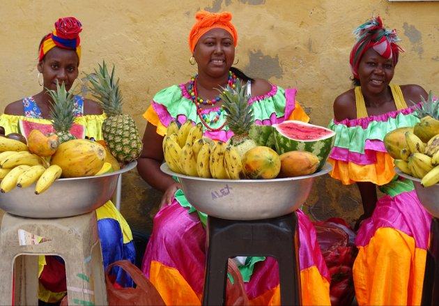Fruitdames van Cartagena