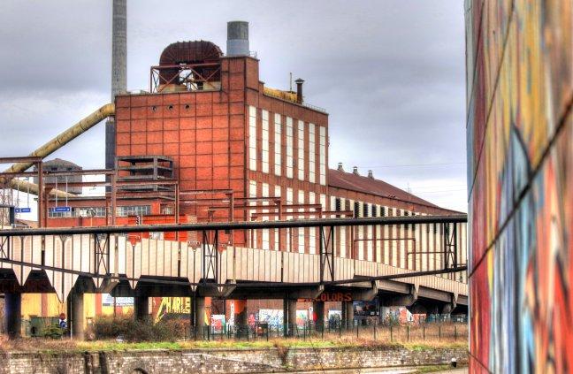 Verlaten fabriek