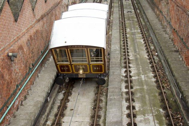 Mini trein in Boedapest