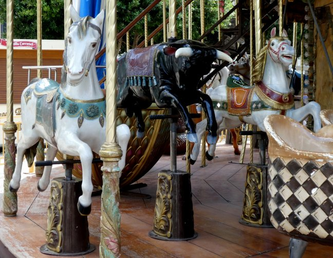 El Toro in de carrousel