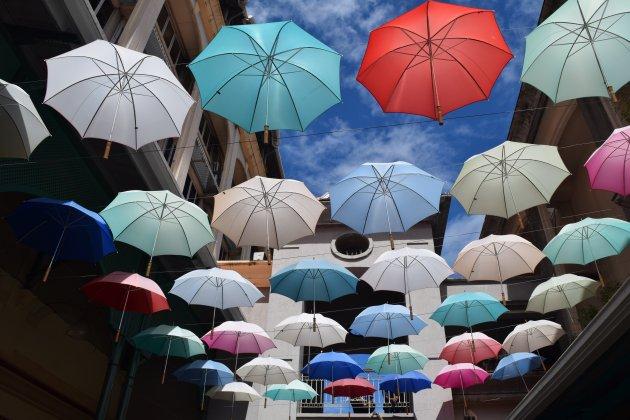 Umbrella Square (Le Caudan Waterfront)
