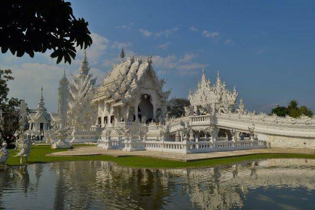 Een bijzondere tempel in Chiang Rai, Thailand