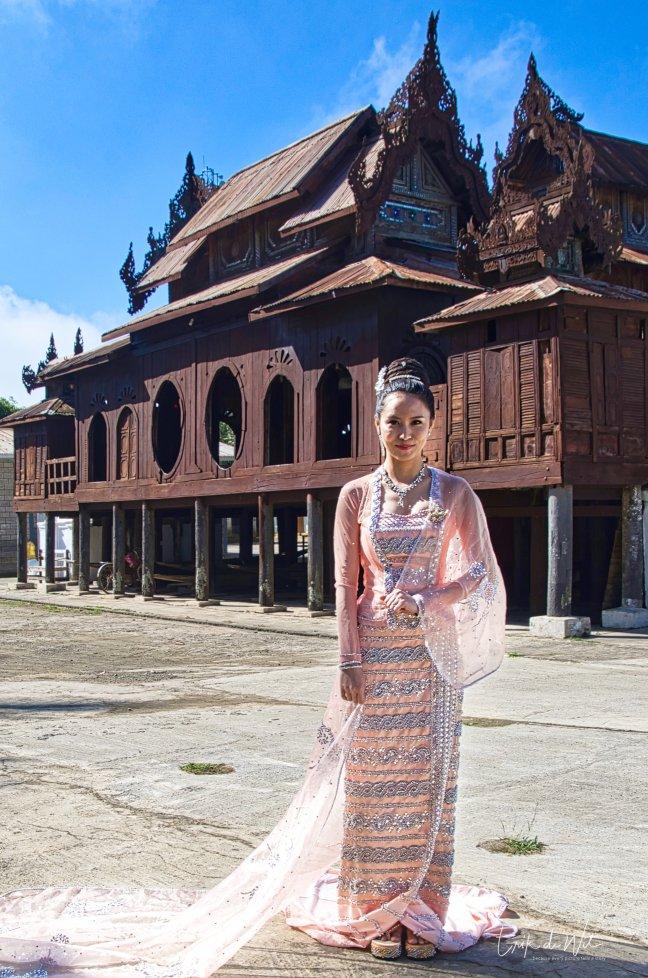 Bruidsfotograaf in Myanmar.