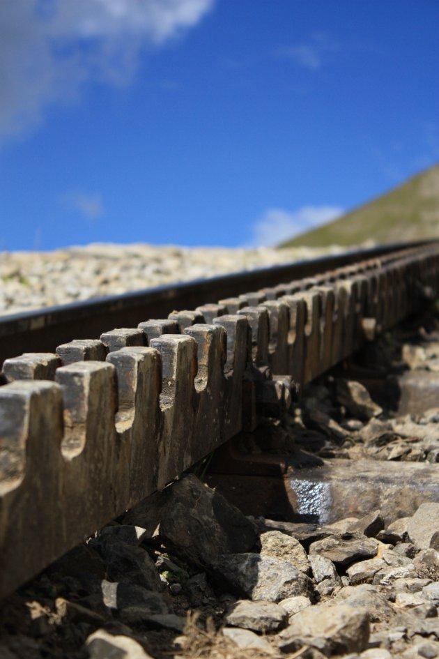 Tandrad van de Rothornbahn