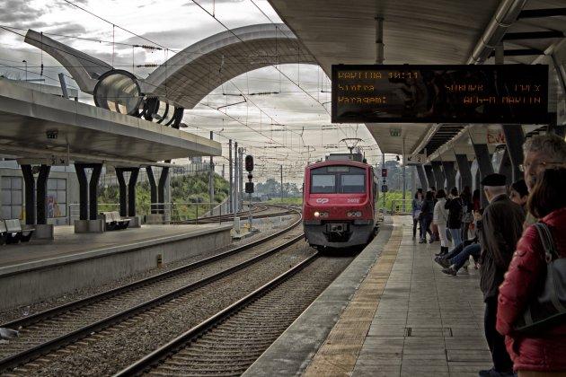 Trein naar Sintra