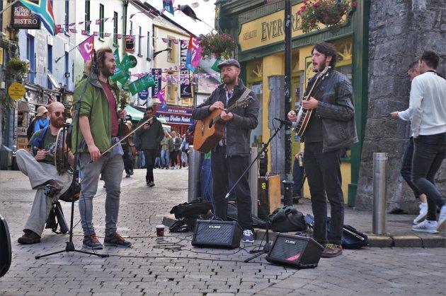 straatmuzikanten Galway