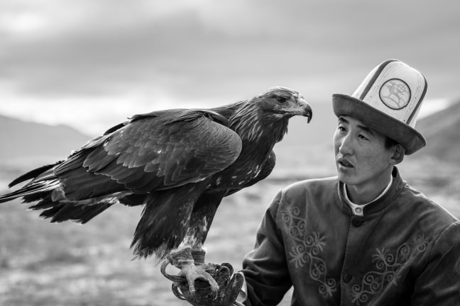 De arendjagers van Kirgizië