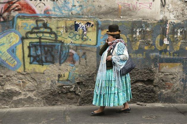 La Paz Bolivia Streetlife