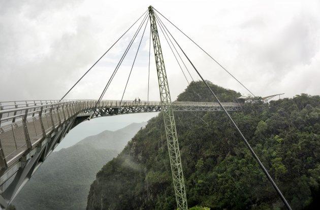 Empty sky-bridge Langkawi