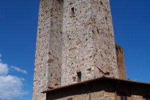 Twin towers van Italie