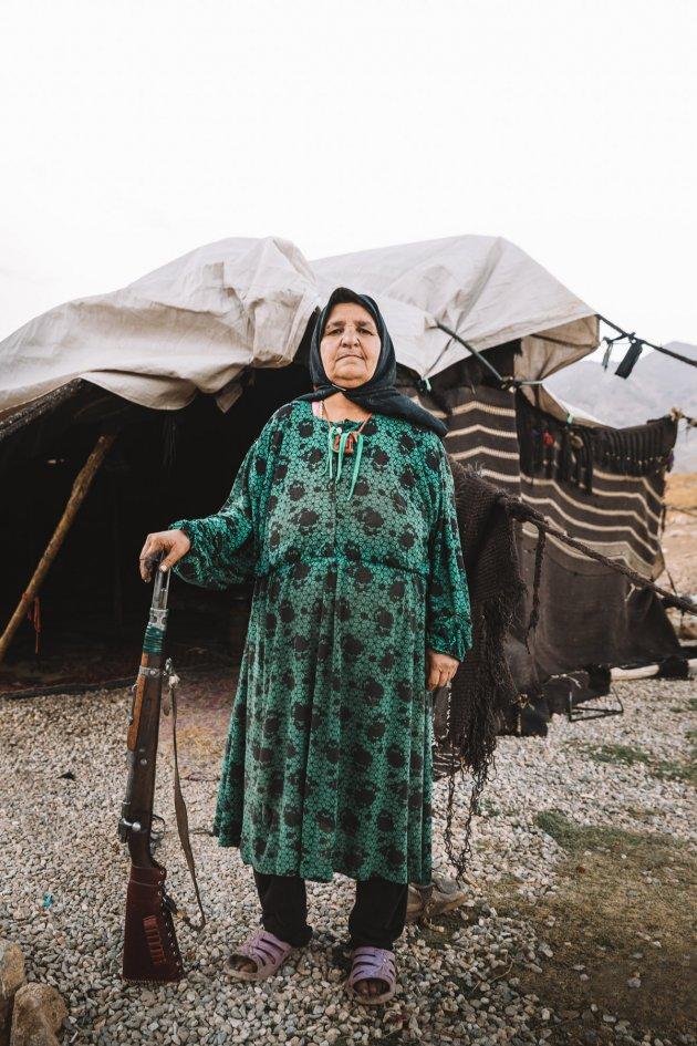 Homa (een Khamseh nomade)