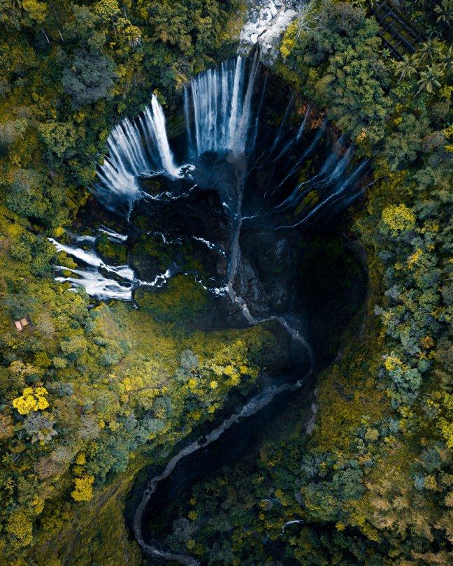 Duizend watervallen in de jungle