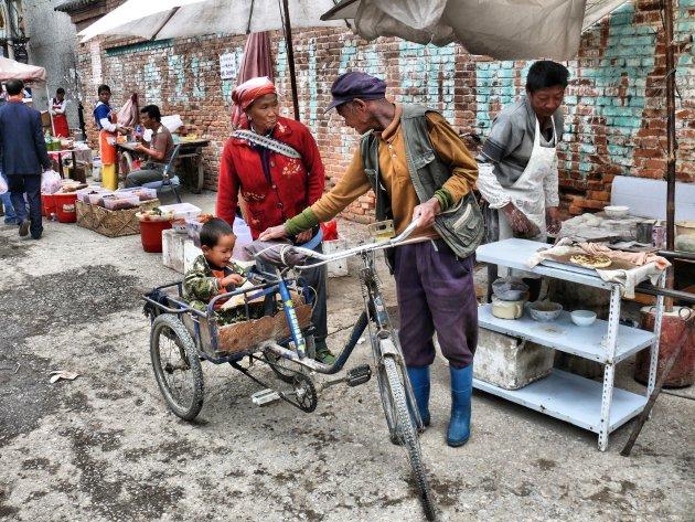 Markt in Xizhou