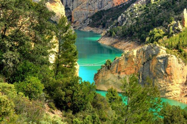 Hangbrug Aragon-Catalunya