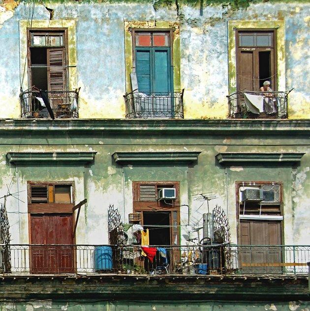 Achter de voordeur in Havana Vieja