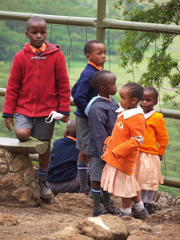 Schoolreisje in Afrika