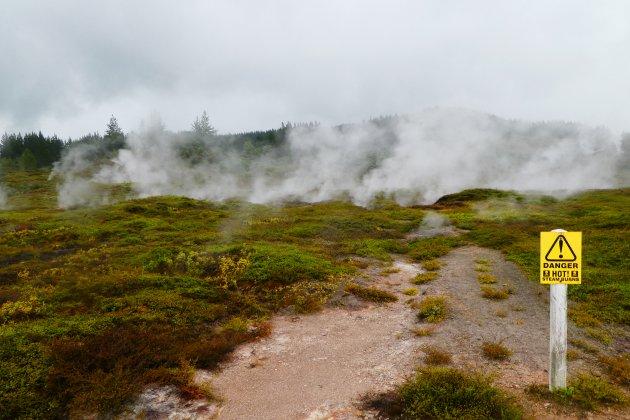 Danger - HOT - Steam Burns